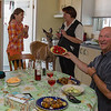 Deer, strawberry, wine, good company, Port-Menier, Anticosti