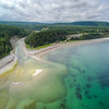 The mouth of the patate river, anticosti