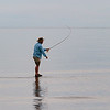 Fly fishing, walk on water, anticosti island, photo safari