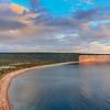 Baie de la tour, anticosti island, fresh water lake, cliff, north shore