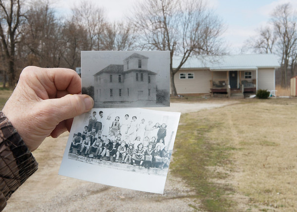 Globe/Roger Nomer<br /> The Neck City School was home to many classes of students, including these from 1913.