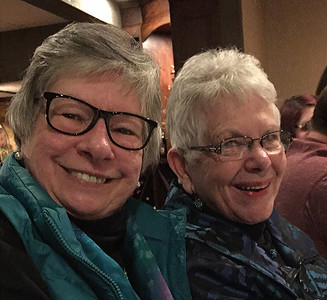 Lucille and Dottie -- 80th Birthday Celebration on January 28, 2017