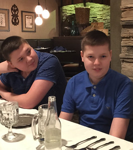 Nick and Frankie - Mom's 80th Birthday Celebration on January 28, 2017  at Carrie Cerino's in  North Royalton, OH