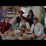Mother's Day Tea at Clementines - May 2017 - Allison had to work