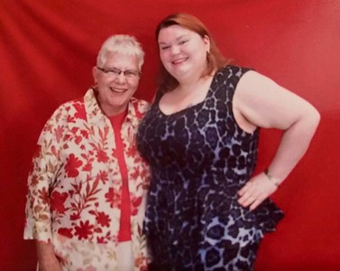 Nicole and Grandma - 2016?