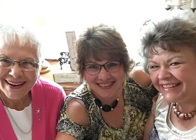 Dottie, Fran and Margie -- September 7, 2018