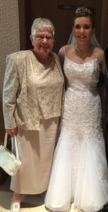 Grandma and her bride!  July 7, 2017