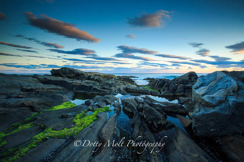 Pemaquid Point at Sunset