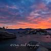 Bonsai Rock Shoreline Sunset