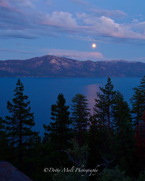 Moonrise Lake Tahoe