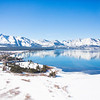 South Lake Tahoe Reflections in Winter