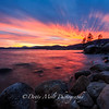 Sunset Along Lake Tahoe's East Shore, Nevada