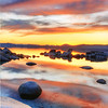 Hidden Harbor Alpen Glow Sunset, Lake Tahoe, NV