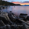 Silent Sunset, Chimney Beach, Lake Tahoe, Nevada