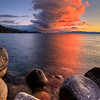 Eruption Thundercloud over Lake Tahoe, NV