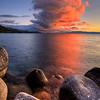 Eruption Thundercloud over Lake Tahoe, NV
