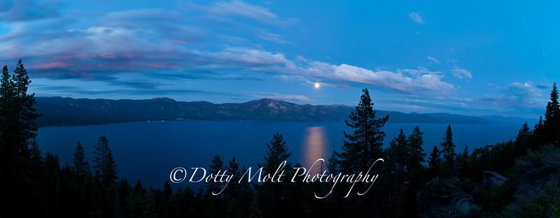 Moonrise, Lake Tahoe, NV