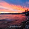 Surreal Sunset Hidden Beach, East Shore Lake Tahoe, NV