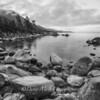 Hidden Harbor Black and White