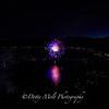 Fireworks over Kings Beach, Lake Tahoe, NV
