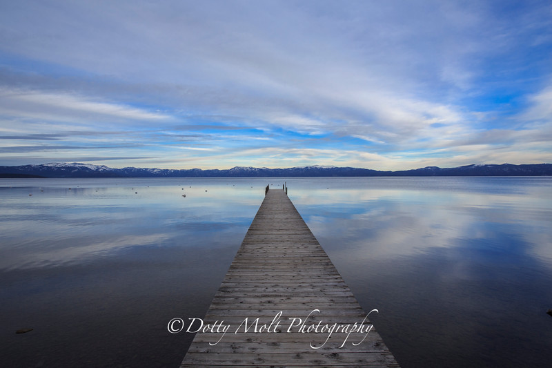 Short Walk on a Long Pier, Lake Tahoe West Shore