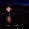 Fireworks over Kings Beach, Lake Tahoe, NV