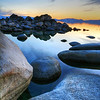 Floating Rocks, Lake Tahoe, NV
