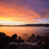 Sunglow Sunset Chimney Beach
