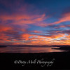 Ethereal Sunset over Lake Tahoe panoramic