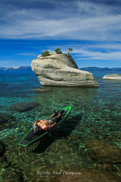Stand up PaddleBoarding on Lake Tahoe