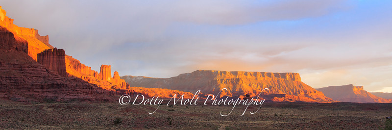 Capitol Reef Sunset Storm