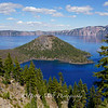 Crater Lake National Park Afternoon Light