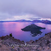 Crater Lake National Park Pink Sunset