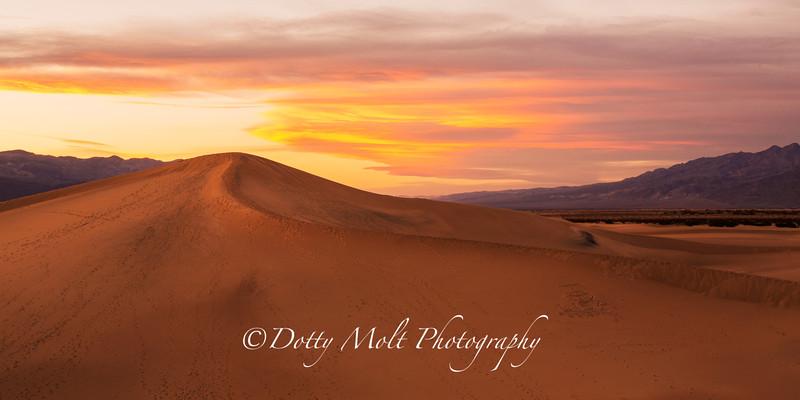 Message in the Dunes, esquire Dunes, Death Valley