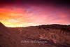 Lightening, Zabriskie Sunrise, Death Valley