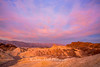 Guardian Angel, Sunrise over Zabriskie Point, Death Valley