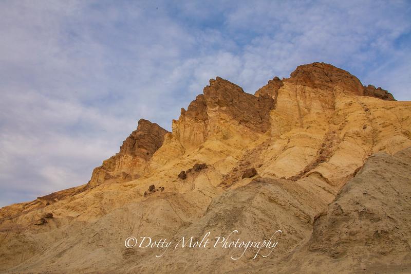 Golden Canyon Spires, Death Valley