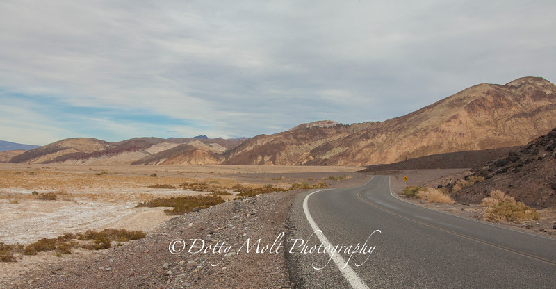 Rolling down the Highway, Death Valley