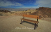 Death Valley Zabriskie Point Bench