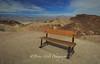Death Valley Zabriskie Point Bench