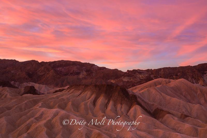 Sunrise Zabriskie, Death Valley