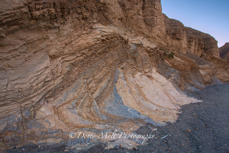 Layers of Time, Mosaic Canyon, Death Valley