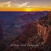 Grand Canyon NP Cape Royal at Sunset
