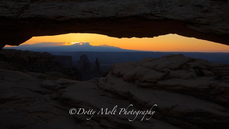 Canyonlands National Park  Mesa Arch Sunrise