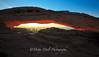 Canyonlands National Park  Mesa Arch Sunrise shadows