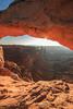 Canyonlands National Park  Mesa Arch Sunstar