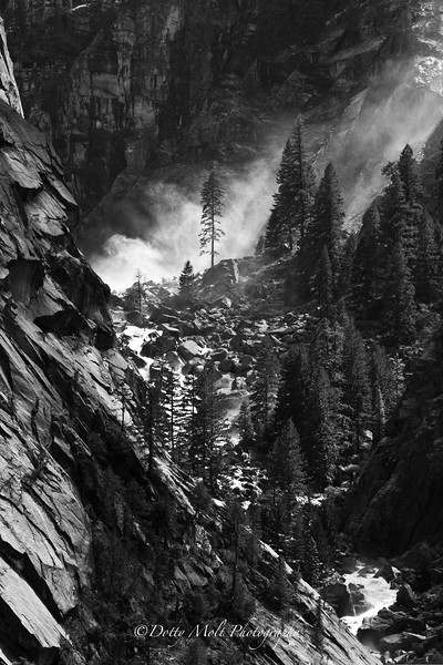 Yosemite, Mist and Granite