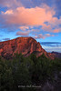 Zion National Park, Northeast Entrance at Sunset