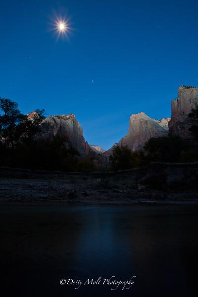 Zion National Park,  Dawn
