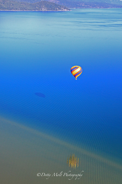 Ballooning over Lake Tahoe